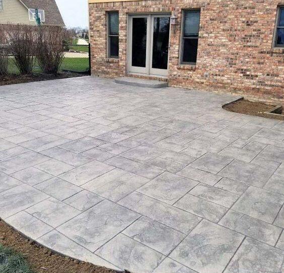 Ashler Stamped Concrete