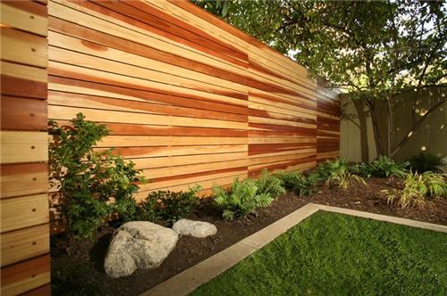 Contemp- 4 fence